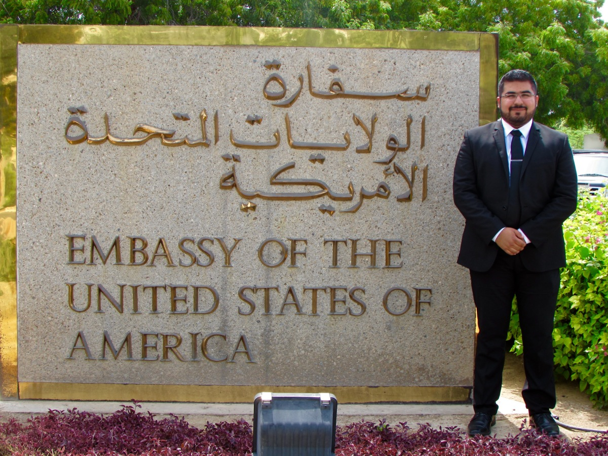 An Interview with State Department Intern James Garza in Oman